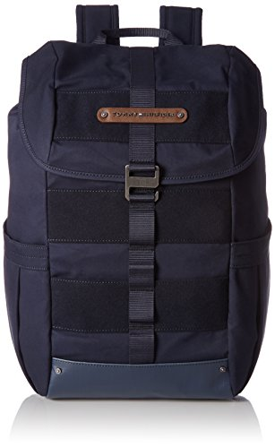 Tommy Hilfiger Herren Modern Nature Backpack Rucksack, Blau (Tommy Navy), 22 x 49 x 33 cm