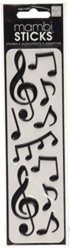 Scrapbooking Stickers Music Notes - 5