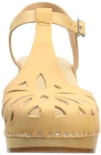 Swedish Hasbeens Lacy Sandal - Zuecos Mujer Nature