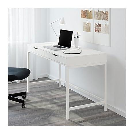 Sensational Ikea Alex Computer Desk With Drawers White Theyellowbook Wood Chair Design Ideas Theyellowbookinfo