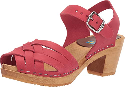 - Mia Women's Bety Clog Red 9