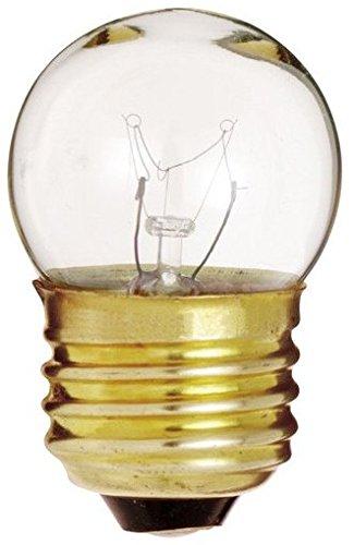 20 Pack Satco S3794 7-1/2 Watt Sign & Indicator Clear S11 Light Bulb with Medium Base