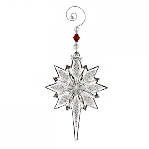 Waterford Crystal Snowstar Ornament New 2014