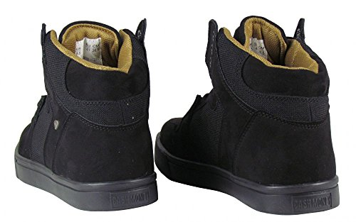 Herren Schuhe High Sneaker Riff Freizeitschuhe Riff Sneaker schwarz schwarz maarte  5150a4