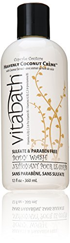 Vitabath Heavenly Coconut Creme Body Wash, 12 Ounce