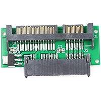 ShineBear Conectores A Mini 1.8 Micro SATA MSATA a 7 + 15 1.8 Pulgadas SATA Adaptador convertidor Tarjeta Conector Chapado Junta Montaje Parte Accesorios # 67541, Otro
