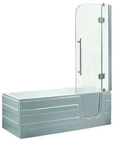 vasca da bagno per anziani e disabili con sportello di ingresso e cabina sopra vasca
