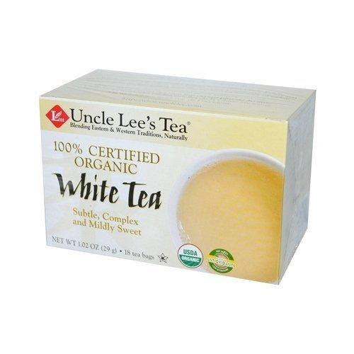 Uncle Lee'S Tea Tea Og1 White 18 Bag