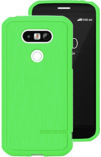 LG G5 Case, BODY GLOVE SPEARMINT GREEN TEXTURED ANTIMICROBIAL CASE COVER FOR LG G5 (Sprint LS992, Verizon VS987, AT&T H820, T-Mobile H830, US Cellular US992) (T-mobile Glove Body)