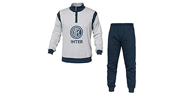 F.C. Internazionale Chándal Pijama Inter 14069 Sudadera de algodón ...