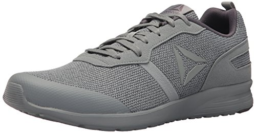 Reebok Mens Foster Flyer Running Shoe Flint Grey/Ash Grey/White/Baseball Grey oJcjEJkPB1
