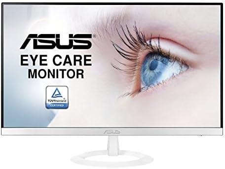 "Asus VZ239H-W 23"" Full HD 1080P IPS HDMI VGA Eye Care Monitor White White/Silver"
