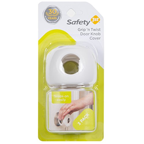 Safety 1st Grip N Twist Door Knob Covers, 3 Pack