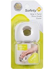 Safety 1st Grip N' Twist Door Knob Covers, 3-Pack - White