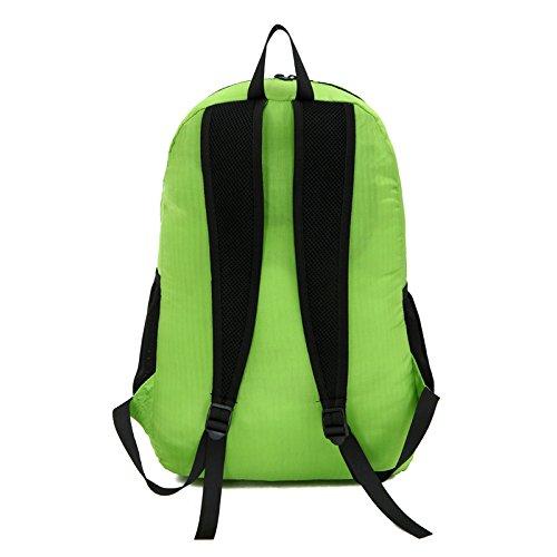 Mountaineering Bag Outdoor Männer und Frauen Schulter Rucksack nylon Wanderpackage wasserdichte Bergsteigen Taschen , Violett