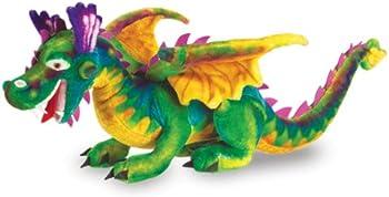 Melissa & Doug Giant Dragon Stuffed Animal ((Over 3' Long)