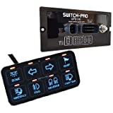 Switch Pros SP-9100 8-Switch Panel Power System With Concealed Mounting Hardware