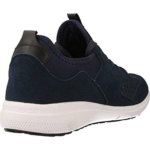 002 Homme N55 SM25005 Bleu Sneakers Lumberjack ZxqBw55
