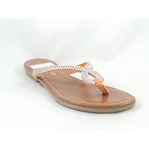 Marco Tozzi - Sandalias de vestir para mujer naranja naranja