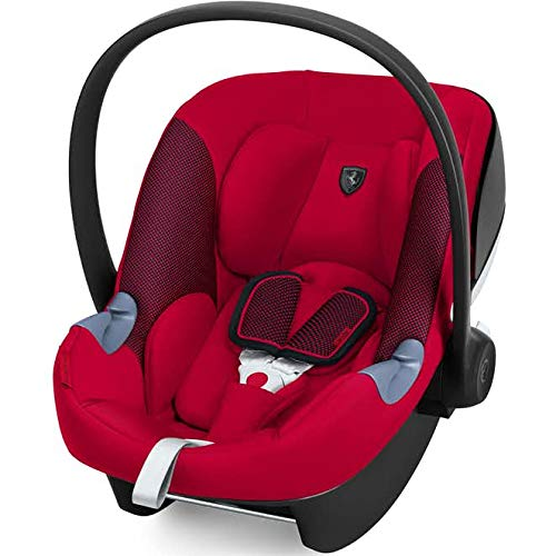 CYBEX Aton M Infant Car Seat, Ferrari – Racing Red