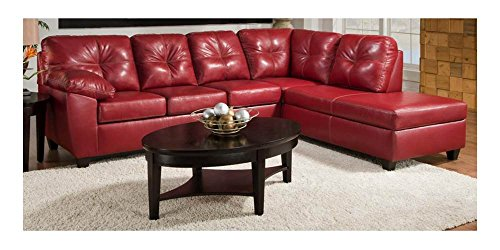 Chelsea Home Furniture Ocean 2-Piece Sectional with Chaise, Thomas Cardinal