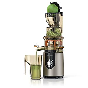 Arendo - Estrattore - Slow Juicer - Capacità totale 1L - Rapida produzione di succo con elevata resa - Accessori lavabili in lavastoviglie - Blocco di sicurezza integrato - BPA free - Certificato GS - 2020 -