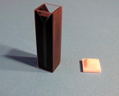Standard Uv Quartz Spectrometer Cuvette Cell, Dark Wall
