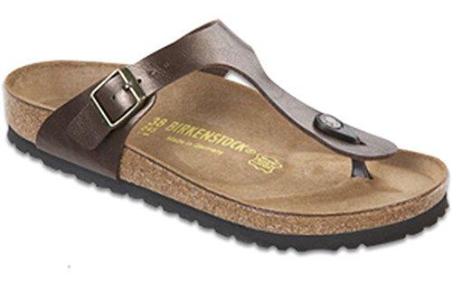 Birkenstock Women's GIzeh Thong Sandal, Toffee Birko-Flor, 39 M EU/8-8.5 B(M) -