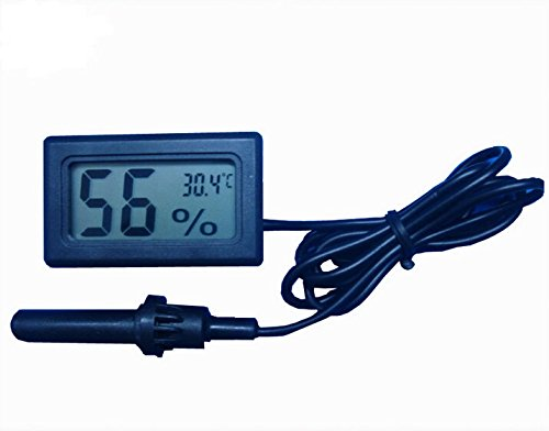 Embedded Thermometer Hygrometer Incubator Greenhouse