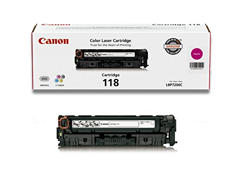 Canon Original 118 Toner Cartridge – Magenta
