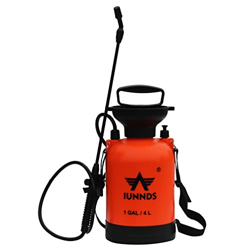 Sports God Lawn and Garden Pump Pressure Sprayer For Fertilizer, Herbicides and Pesticides (1 (Garden Compression Sprayer)