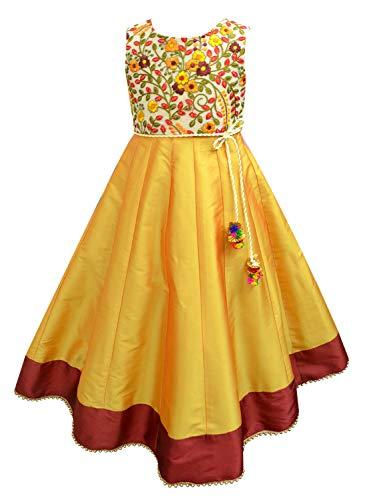 A.T.U.N. Girl's Anarkali Ethnicwear Party Dress