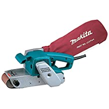 Makita 9924DB 7.8 Amp 3-Inch by 24-Inch Belt Sander with Cloth Dust Bag