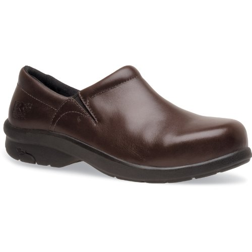 Timberland PRO Women's Newbury ESD Work Shoe,Brown,6 W US