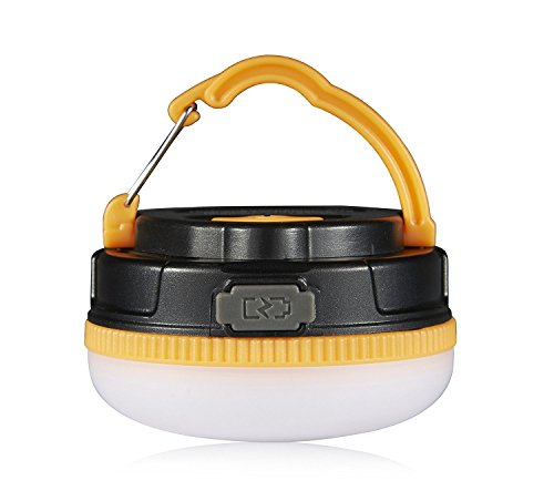 2016 180 Lumens Rechargeable Camping Lantern, Outdoor Portable LED Light, (Lighthouse Brass Sconce)
