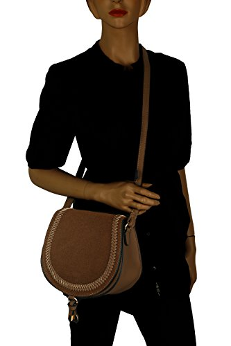 MKF Farrow K Collection Bag Simply by Elegant Brown Mia Saddle qHZW6qB