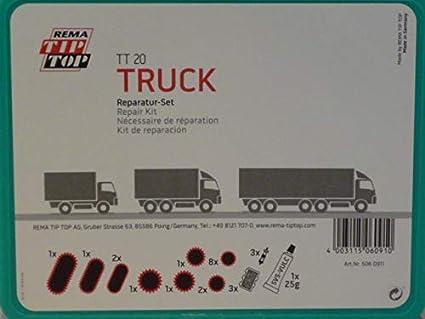 Rema Tip Top Schlauch Reparatur Set Sortiment Tt 20 Truck Schlauchflicken 506091 Baumarkt