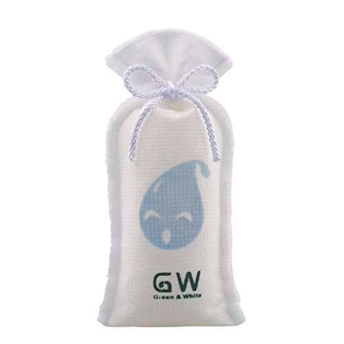 GW 225g Mini Reusable cordless dehumidifying bags 250g dry moisture absorbing - Set of 8