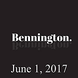 Bennington, June 1, 2017 Radio/TV Program