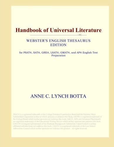Read Online Handbook of Universal Literature (Webster's English Thesaurus Edition) ebook