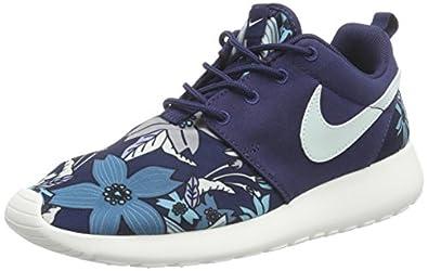 ysewm Nike Women\'s WMNS NIKE ROSHE ONE PRINT PREM Low-Top Sneaker