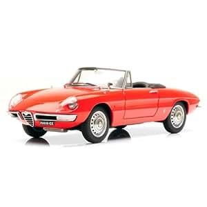 1966 Alfa Romeo 1600 Duetto Spider [AutoArt 70137], Rojo, 1:18 Die Cast