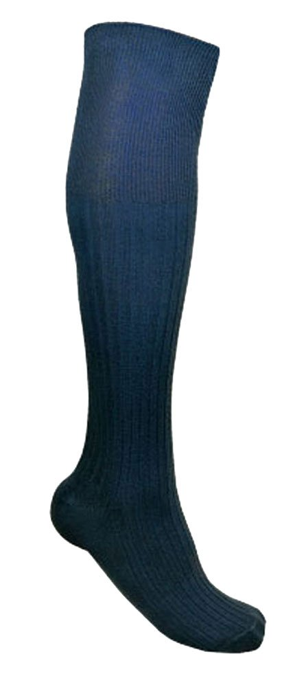 Socks Uwear - Mens Long 100% Cotton Ribbed Socks (Pack of 3) Universal Textiles UTMB202_1