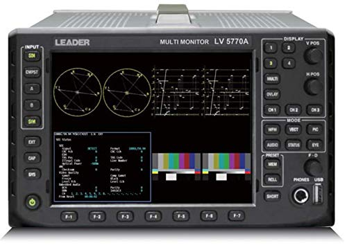 Leader LV5770A Multi-SDI Waveform Monitor