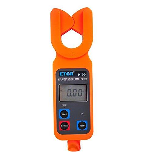 Digital meter- High/low Voltage Clamp Meter Data Memory ETCR9100, Amp Ohm Volt Meter: DIY & Tools