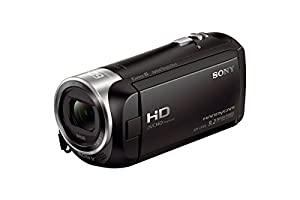 Sony HD Video Recording HDRCX405 Handycam Camcorder | SanDisk Ultra 64GB microSDXC UHS-I Card with Adapter by Sony