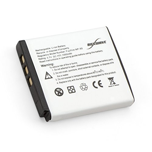 50 Standard Capacity Replacement Battery - Rechargeable Li-Ion Battery for the Fujifilm FinePix F100fd, Fujifilm FinePix F200EXR, Fujifilm FinePix F300EXR, Fujifilm FinePix F305EXR, Fujifilm FinePix F500EXR, Fujifilm FinePix F505EXR (Np50 Replacement Battery)