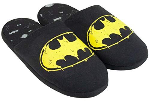DC Comics Batman Logo Men's Slippers (EU 44) Black
