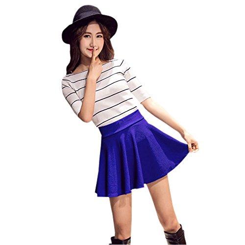 f5edf4fc05 50% de descuento KINDOYO Nueva moda falda plisada de cintura ...