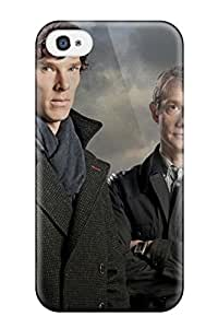 New Style Tpu 4/4s Protective Case Cover/ Iphone Case - Sherlock Cumberbatch by icecream design